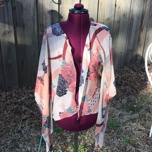 Cute sheer cardigan wrap size medium rue 21